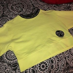 Forever 21 Sweaters - Brand new yellow crew neck extra small NEVER wore